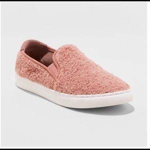 Mad Love Sherpa Kam Sneaker Pink